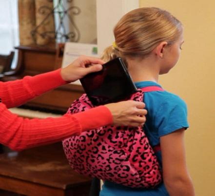 کوله پشتی مناسب برای کودکان gogo pillow