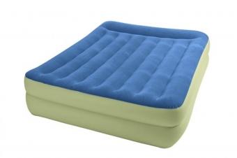 تخت خواب بادی دونفره رویه آبی 67714