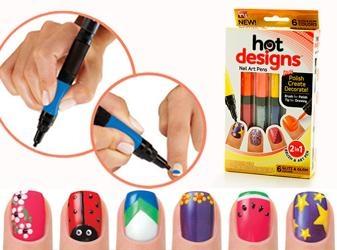 قلم طراحی ناخن هات دیزاین  HOT DESIGNS