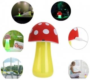 بخور سرد و چراغ خواب طرح قارچ Mushroom Lamp Humidifier