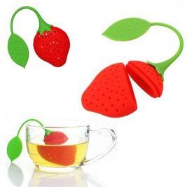 چای ساز سیلیکونی توت فرنگی