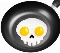 قالب تخم مرغ طرح اسکلت