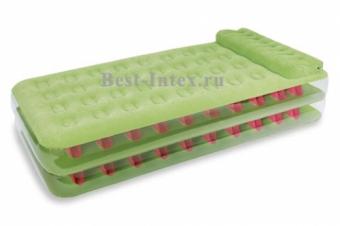 تخت بادی 1نفره سبز (67716)