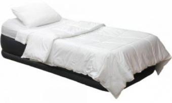 تخت خواب بادی یک نفره همراه با پمپ برقی
