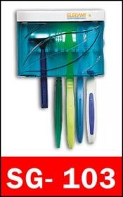 جا مسواکی و جای ریش تراش ضد باکتری و ضد میکروب Elegant SG-103